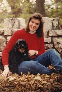 me and Lady, senior pics